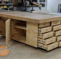 Как сделать надежный рабочий стол мастер класс