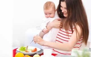 Продукты полезные для кормящей мамы