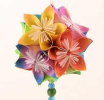 Цветы по технике оригами. Цветок-оригами из бумаги: пошаговая инструкция для начинающих