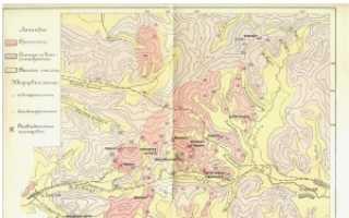 Карта полезных ископаемых забайкальского края