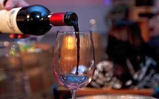 Польза сухого вина