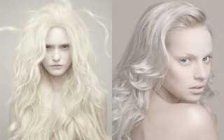 Как сделать волосы белыми. Кому идет белый цвет волос и как получить идеальный оттенок